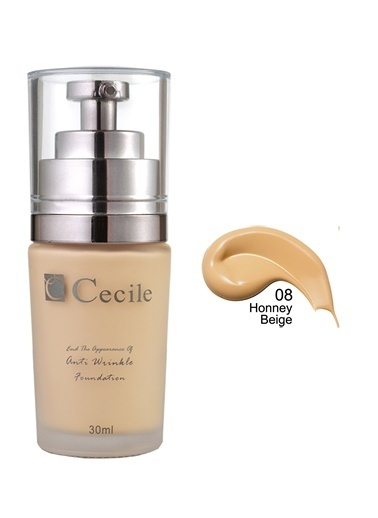 Cecile End The Appearance Of Anti Wrinkle Foundation  08 Bej